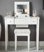 Coco White Dressing Table