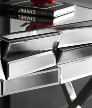 Knightsbridge side table silver