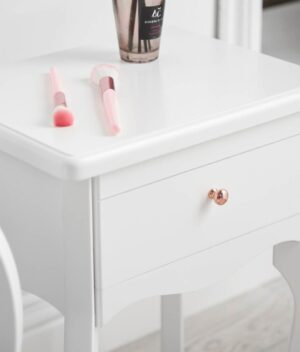 Sorrento side table white