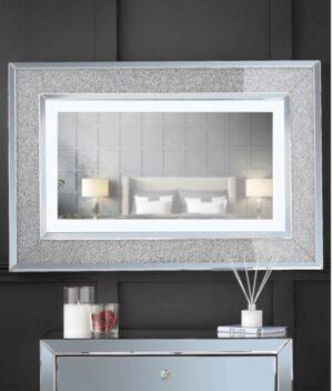 Valentina grey mirror
