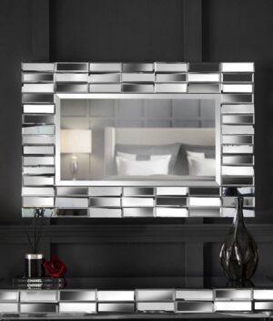 Knightsbridge set 2 combo rectangle silver