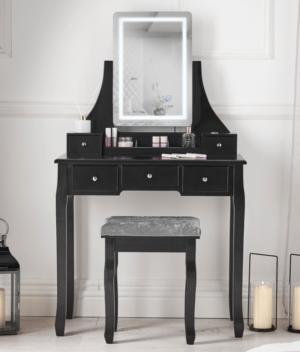 Savannah Black dressing table