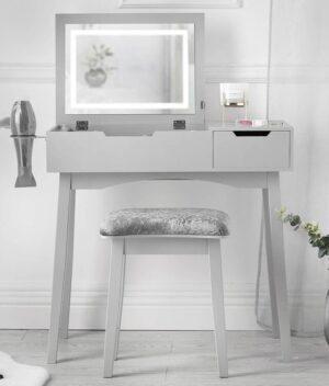 Selena grey dressing table