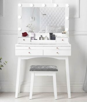 Taylor white dressing table
