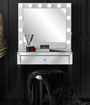 Laguna x Willow silver dressing table