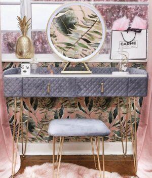 Velvet Dressing Table