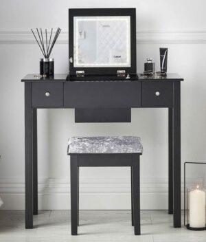 Coco Black Dressing Table