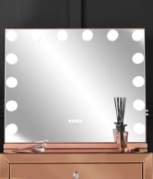 Natalia rosegold mirror