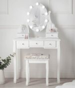 Ruby Rozanna White Dressing Table