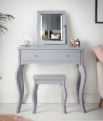 Sorrento 3 piece grey dressing table
