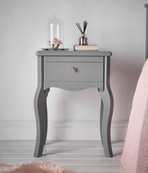 Sorrento side table grey
